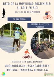Imagen Reto de la Movilidad Sostenible: Al Cole en Bici