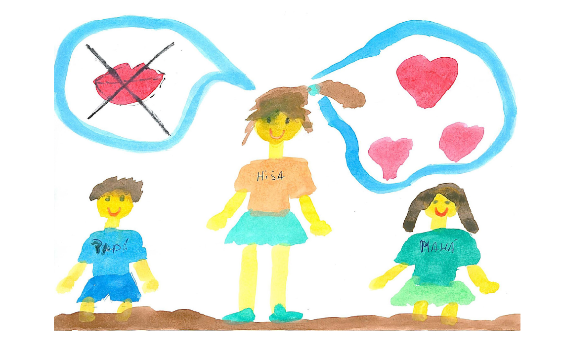 """Imagen """"Crecer con miedo: Niños y niñas ante la violencia de género""""- Exposición"""