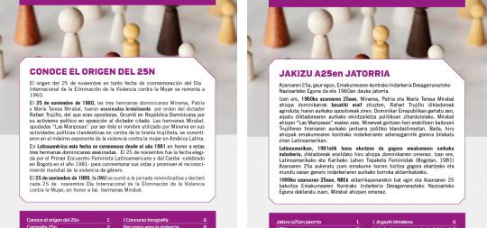 Imagen Berdintasun informazio buletina 2. alea