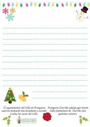 Imagen Carta especial Navidad