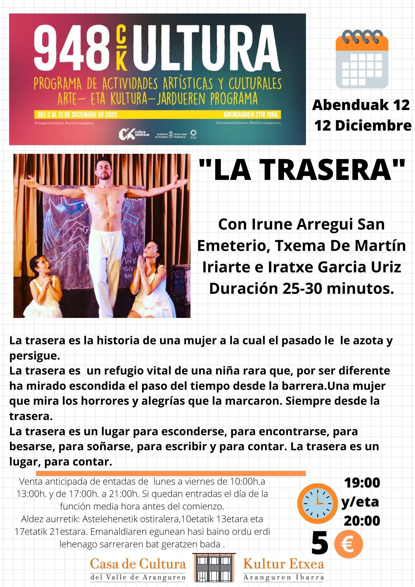 Imagen «LA TRASERA» TEATRO