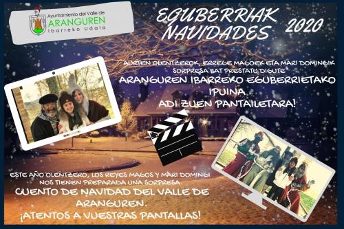 Imagen Cuento de Navidad del Valle de Aranguren