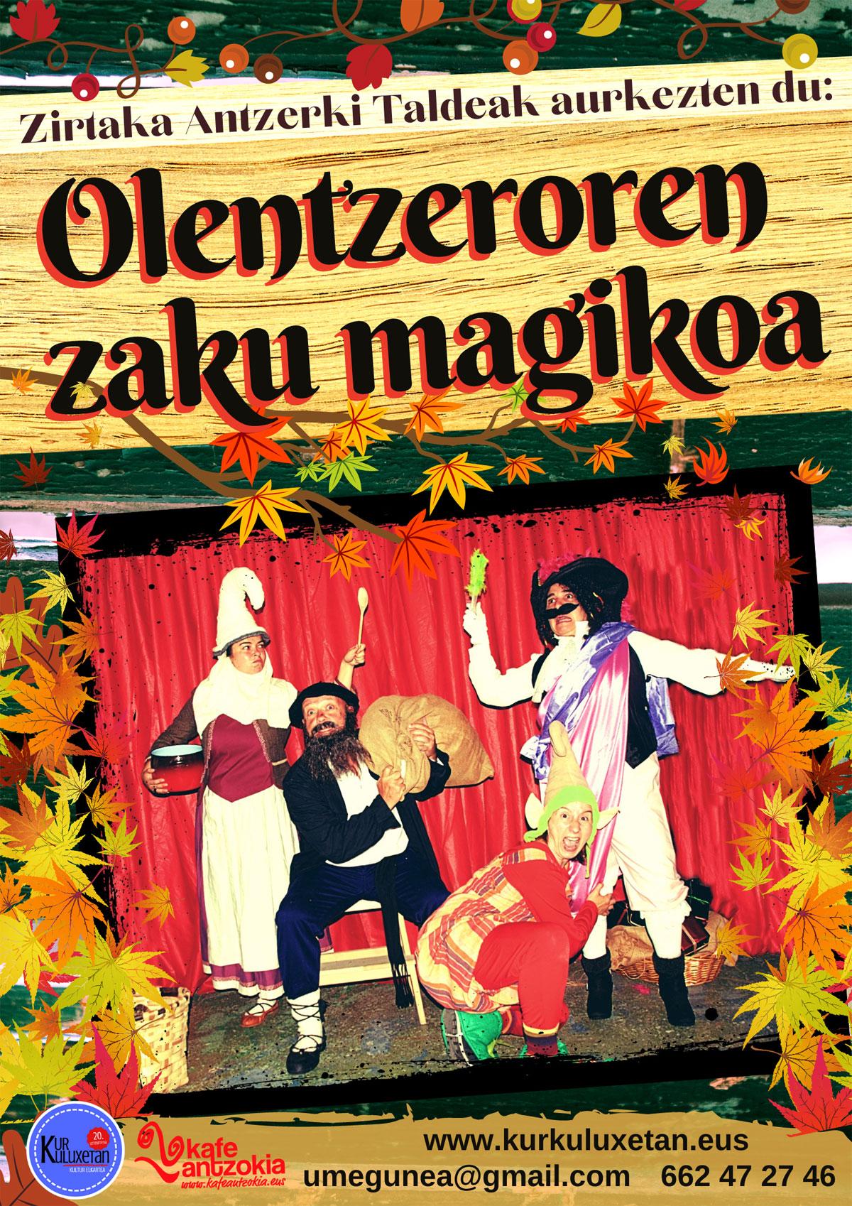 """Imagen """"Olentzeroren saku magikoa"""""""