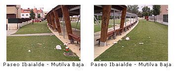 Paseo Ibaialde de Mutilva Baja