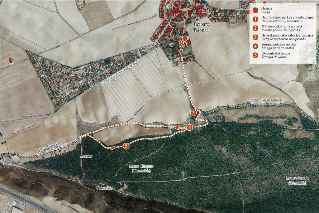 Mapa-ruta-Tajonar